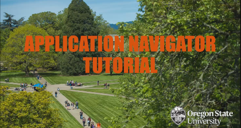 Banner 9- Application Navigator Tutorial