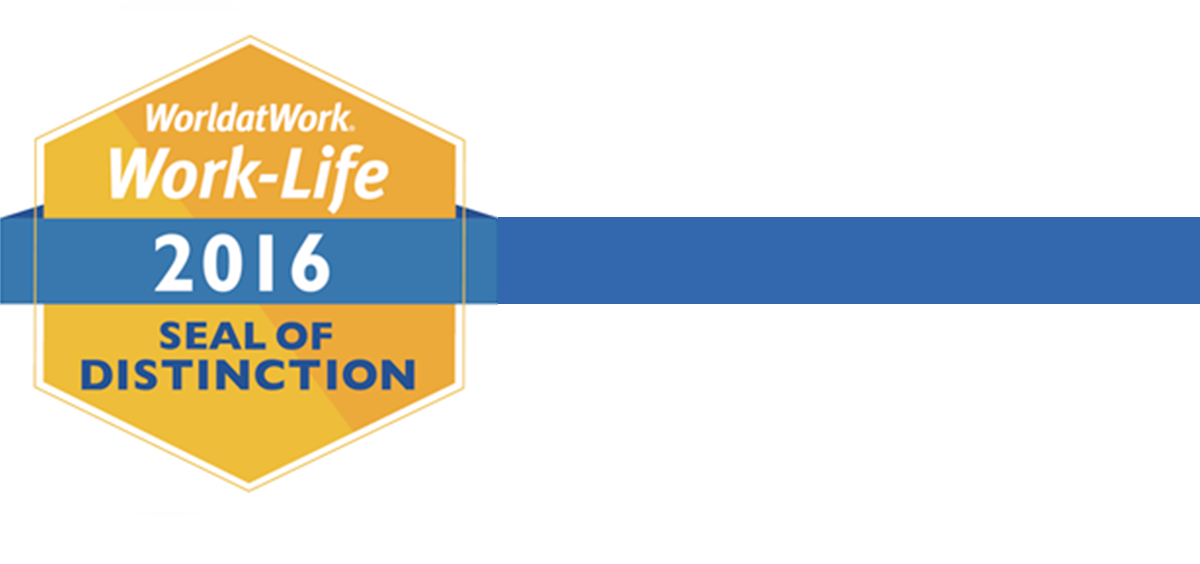 World at Work 2016 Seal of Distinction